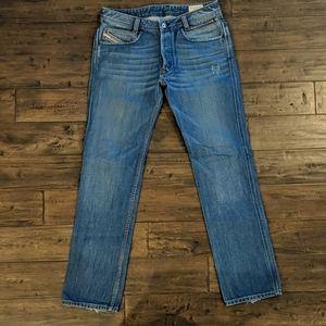 Men's Diesel Paddom Straight Leg - 33x34